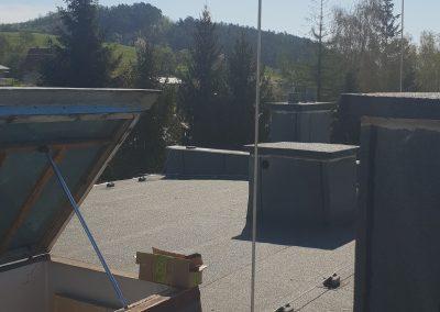Rekonštrukcia bleskozvodu na bytovkách - Dolná Breznica
